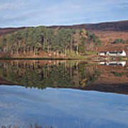Glen Affric Reflections Art Print