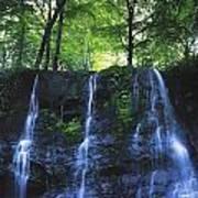 Glenariff Waterfall, Co Antrim, Ireland Art Print