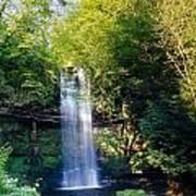 Glencar Waterfall, County Sligo Art Print