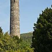 Glendalaugh Round Tower 10 Art Print
