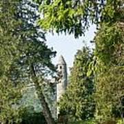 Glendalaugh Round Tower 12 Art Print