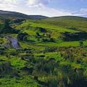 Glenelly Valley, Sperrin Mountains, Co Art Print