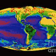 Global Biosphere Art Print