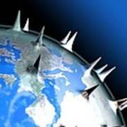 Global Pandemic, Conceptual Artwork Art Print