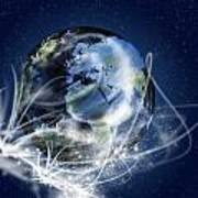 Globe Art Print