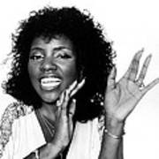 Gloria Gaynor, Circa 1980 Print by Everett