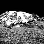 Glorious Mount Rainier  Art Print