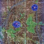Glory In Blue Art Print