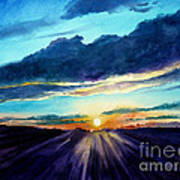 Glory Of The Sunset 2 Art Print