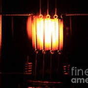Glowing Filament 3 Of 3 Art Print