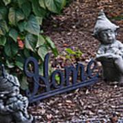 Gnomes At Home Art Print