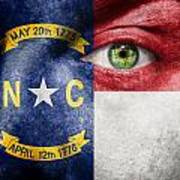 Go North Carolina Art Print