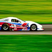 Go Speed Racer Go Art Print