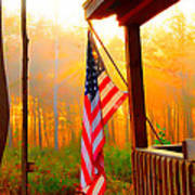 God Country Home Art Print