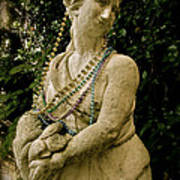 Goddess Of The Bayou Art Print