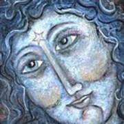 Goddess Of The Northern Star Art Print