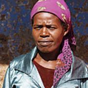 Godmother Of Ethiopia Art Print