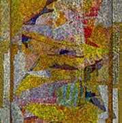Gold Tablet Art Print