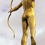 Golden Archer Art Print
