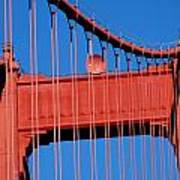 Golden Gate Bridge Summit Art Print