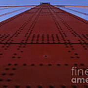 Golden Gate Bridge Vertical Art Print