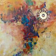 Golden Gears Art Print