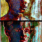 Golden Girl Series Art Print