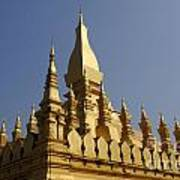 Golden Palace Laos 2 Art Print