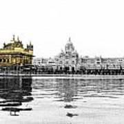 Golden Temple India Art Print