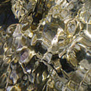 Golden Treasure Just Below Art Print