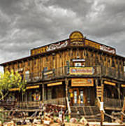 Goldfield Ghost Town - Peterson's Mercantile  Art Print
