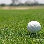 Golf Ball Art Print