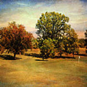 Golf Course II Art Print