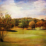 Golf Course IIi Art Print