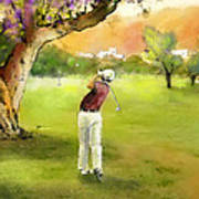 Golf In Spain Castello Masters  04 Art Print