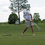 Golf Swing Art Print
