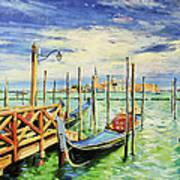 Gondolla Venice Art Print