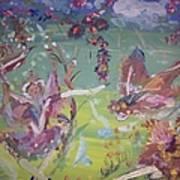 Good Morning Fairies Art Print