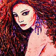 Gorgeous Woman Art Print