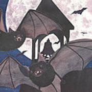 Got Bats Art Print