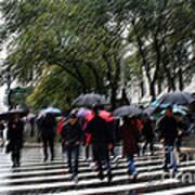 Gotham Rainy Day Art Print