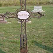 Gothic Grave Marker Art Print