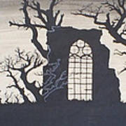 Gothic Landscape Art Print by Silvie Kendall