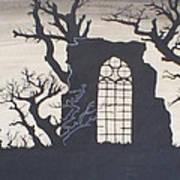 Gothic Landscape Art Print