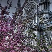 Gothic Paris Art Print