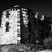 Gothic Tower Of The City Observatory Edinburgh Scotland Uk United Kingdom Art Print