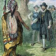 Governor John Winthrop Art Print