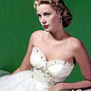 Grace Kelly, C. Mid-1950s Print by Everett