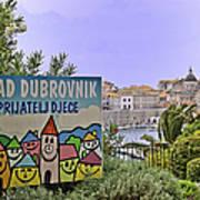 Grad Dubrovnik Art Print