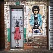 Graffiti Artist Art Print